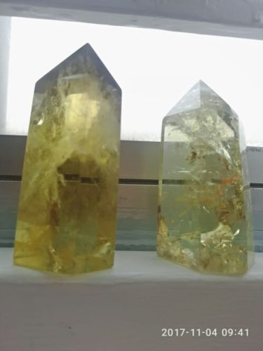 Citrine Quartz Crystal Wand photo review
