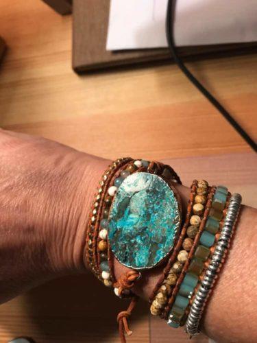 Ancient Wisdom Ocean Bracelet photo review