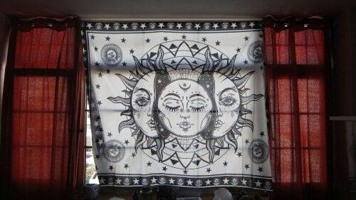 Balancing Monochrome Zen Tapestries - 6 Styles photo review