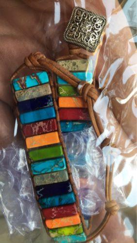 Ancient Wisdom Natural Stone Chakra Bracelet photo review