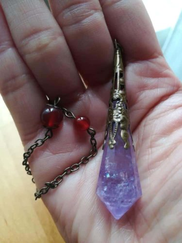 Reiki Crystal Pendulums - 4 Styles Available photo review